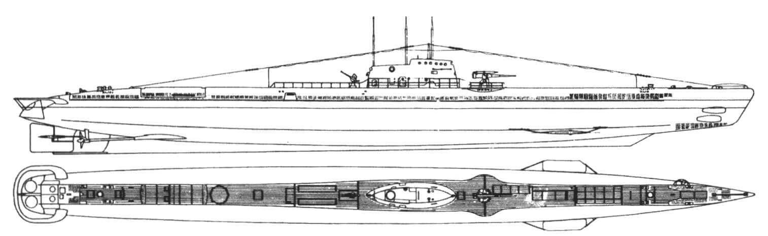 Подводная лодка «Вылк» (Польша, 1931 г.). Строилась фирмой «Огюстэн Норман» во Франции. Тип конструкции - двухкорпусный. Водоизмещение надводное/подводное 980/1250 т. Размеры: длина - 78,5 м, ширина - 5,9 м, осадка - 4,2 м. Глубина погружения - до 80 м. Двигатель: два дизеля мощностью 1800 л.с. + два электромотора мощностью 1200 л.с. Скорость надводная/подводная - 14/9 уз. Вооружение: шесть 550-мм торпедных аппаратов (четыре в носу, один спаренный поворотный на палубе, десять торпед), одно 100-мм орудие, один 40-мм автомат (впоследствии заменен на два 13,2-мм пулемета), 40 мин. Экипаж - 54 человек. Всего в 1931 - 1932 годах построено три единицы: «Рысь», «Вылк» и «Жбик». «Рысь» и «Жбик» интернированы в Швеции, после войны возвращены Польше. Все сданы на слом в 1951 - 1954 годах.