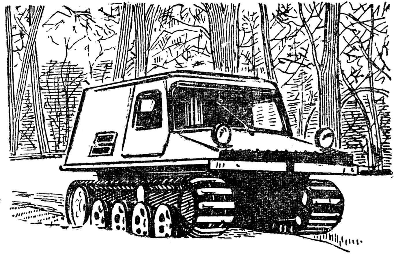 Снегоболотоход С-ГПИ-19.