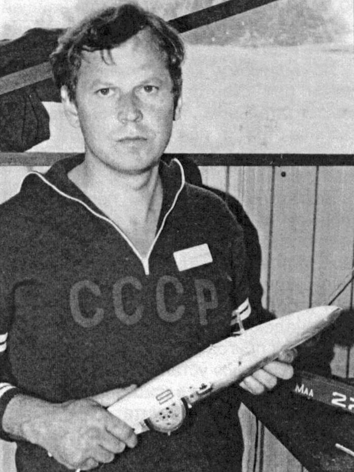 Анатолий Медведев - чемпион Европы 1984 года (Эребру, Швеция)