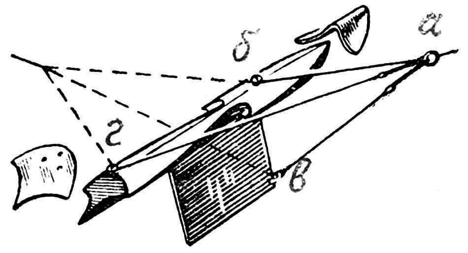 Рис. 3. Корпус модели с реданами.