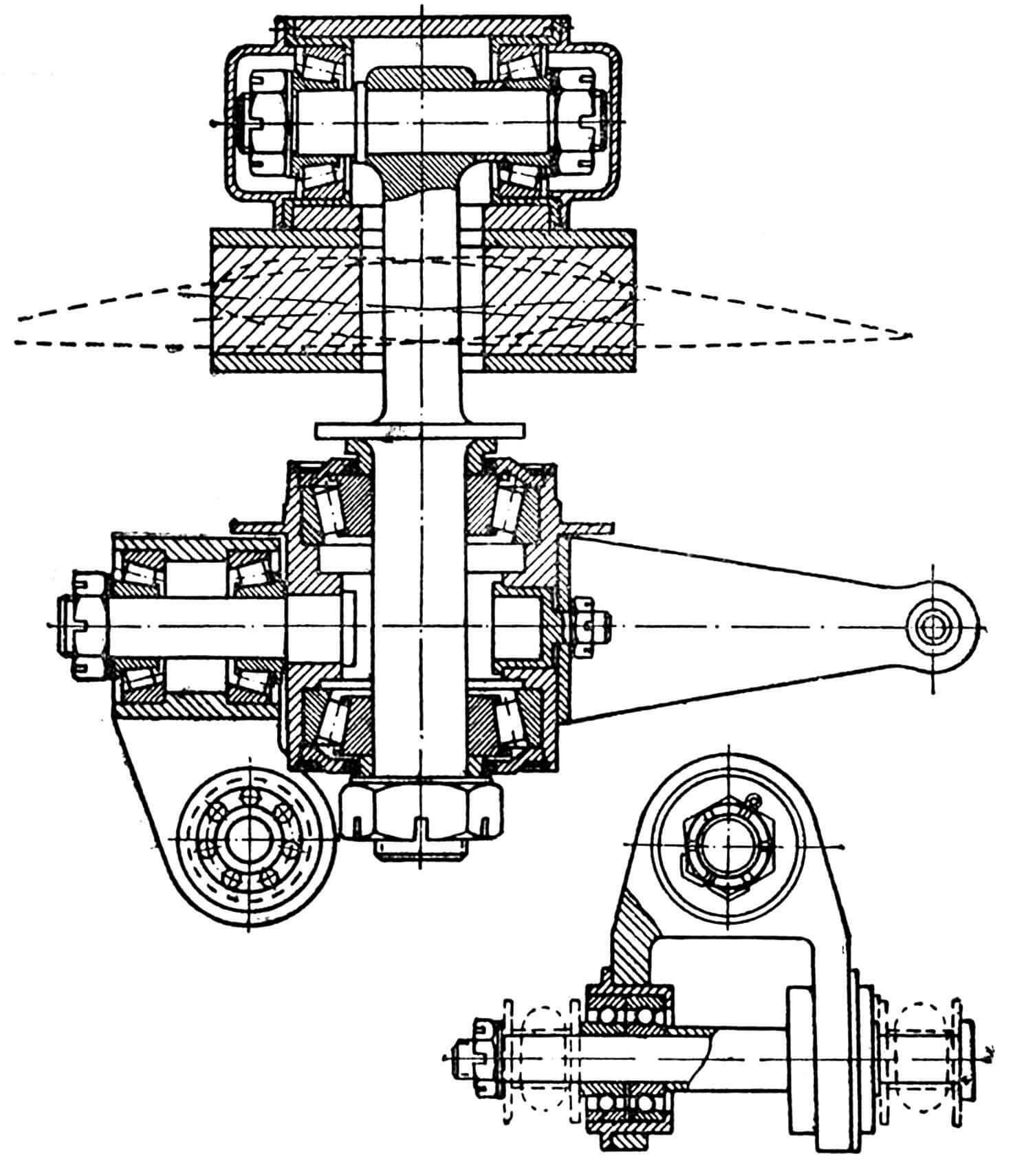 Рис. 3. Втулка ротора.