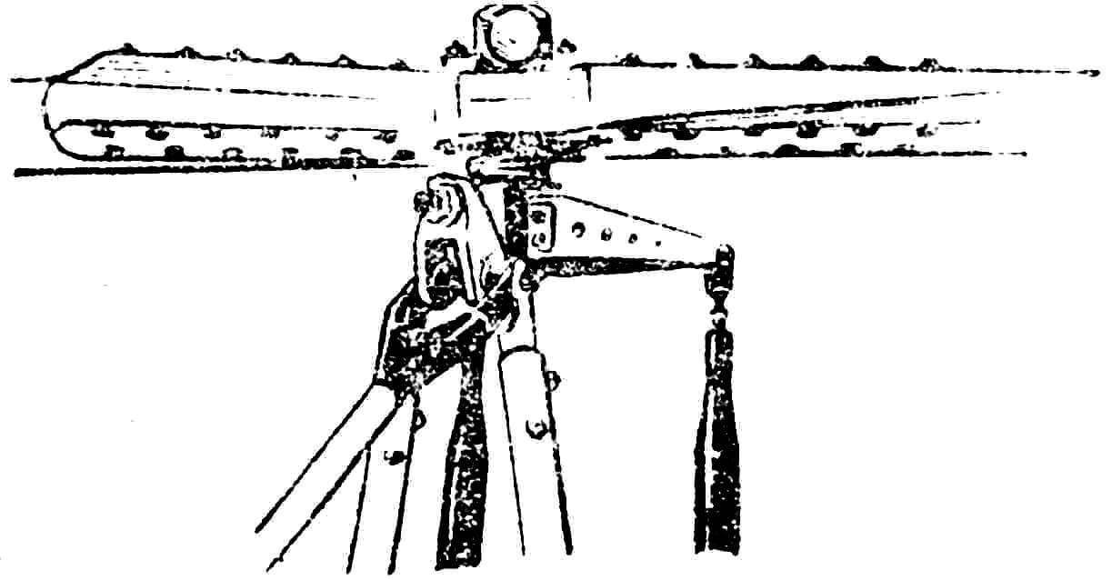 Рис. 4. Карданный узел втулки