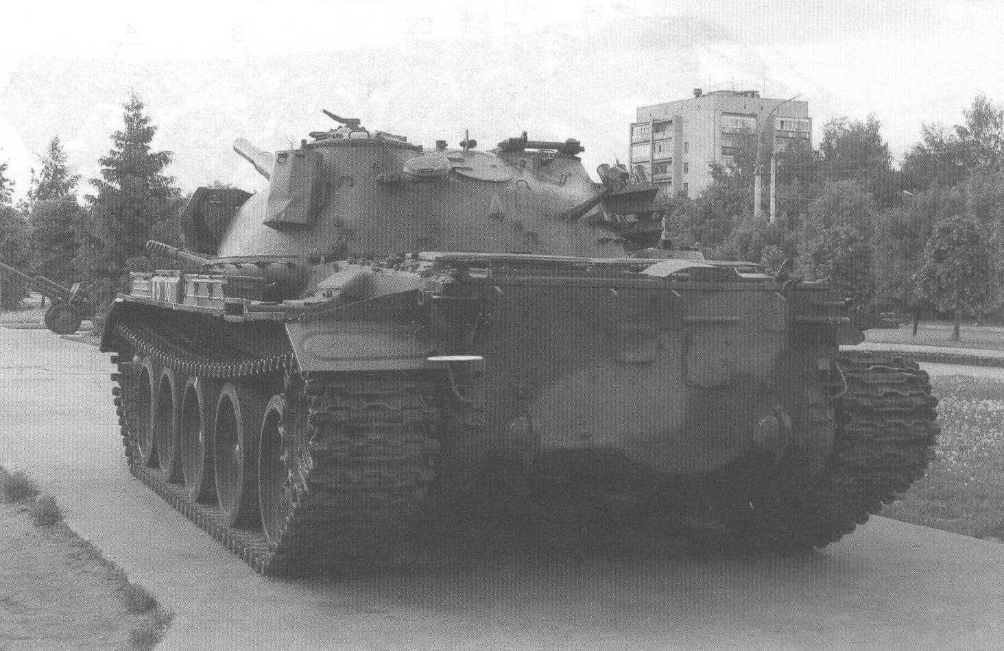 Кормовая часть танка Т-62М