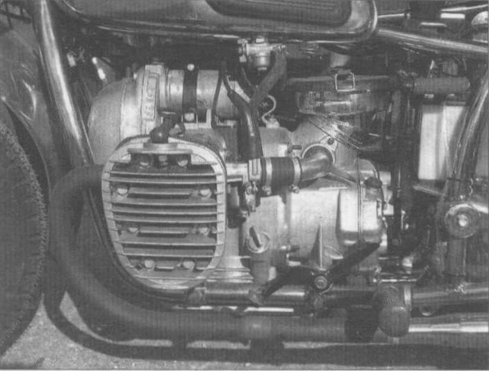 Двигатель мотоцикла К-750