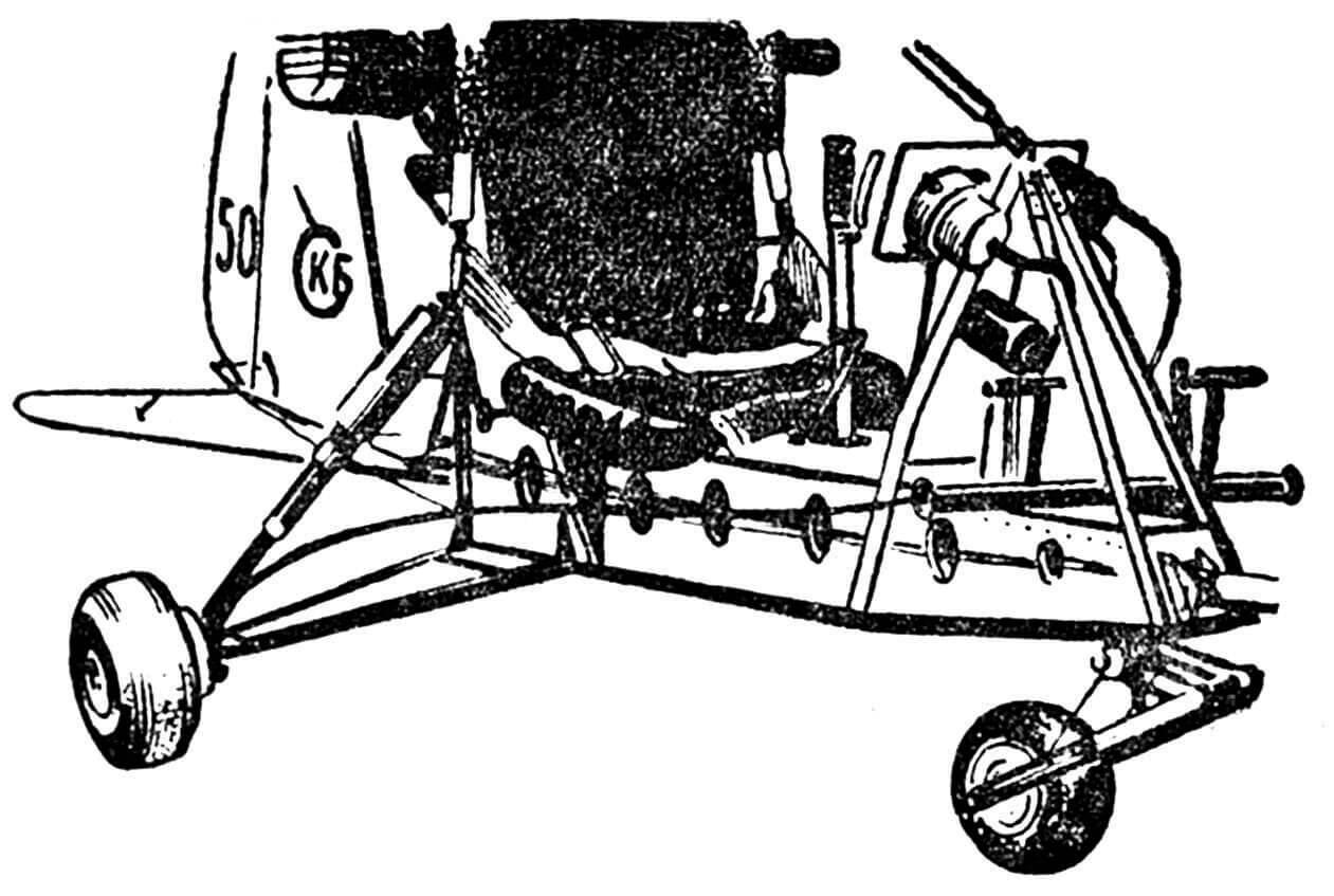 Рис. 5. Шасси