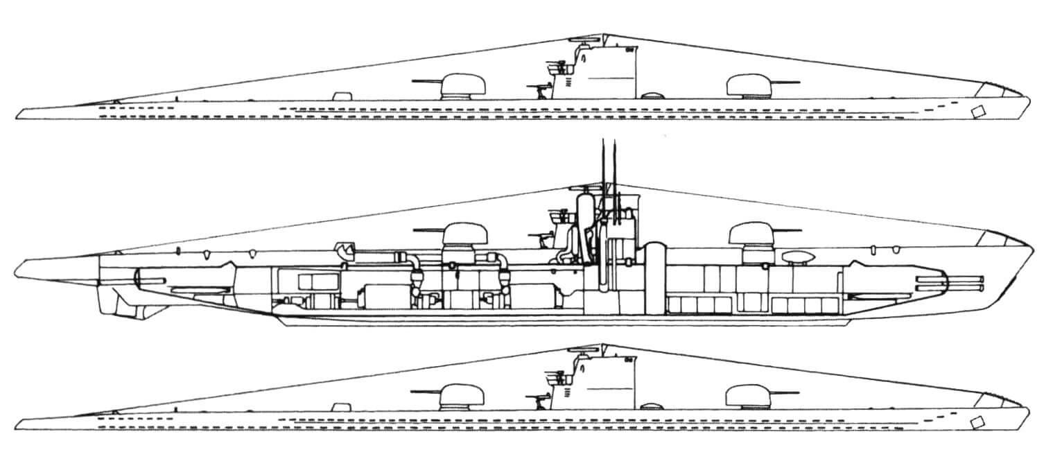 Немецкая подводная полка Тип XI