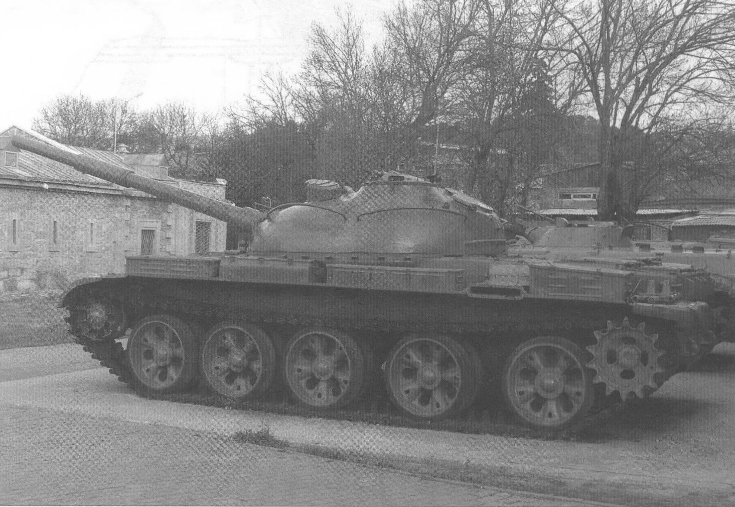 Кормовая часть танка Т-62