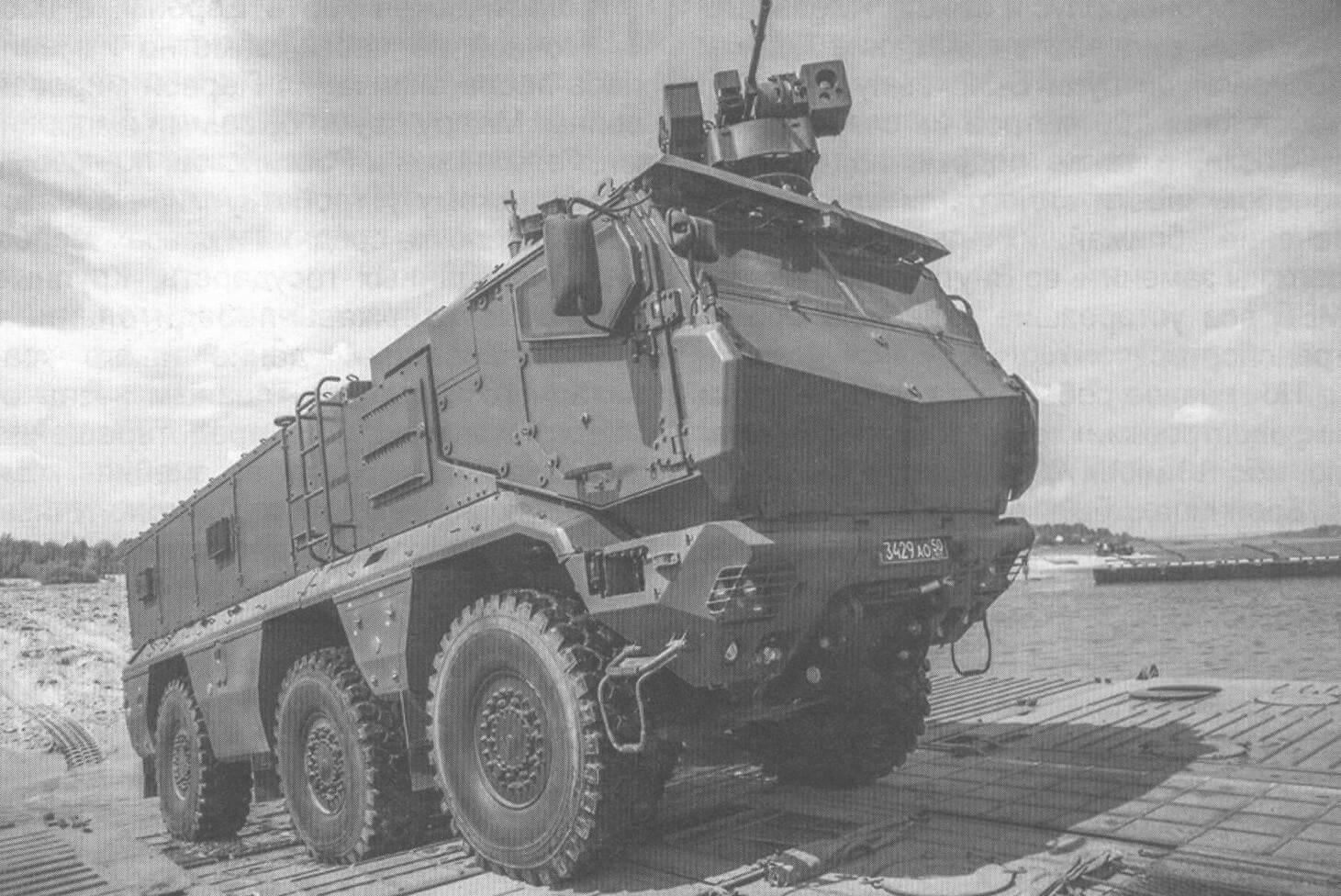 Бронеавтомобиль КамАЗ-63968