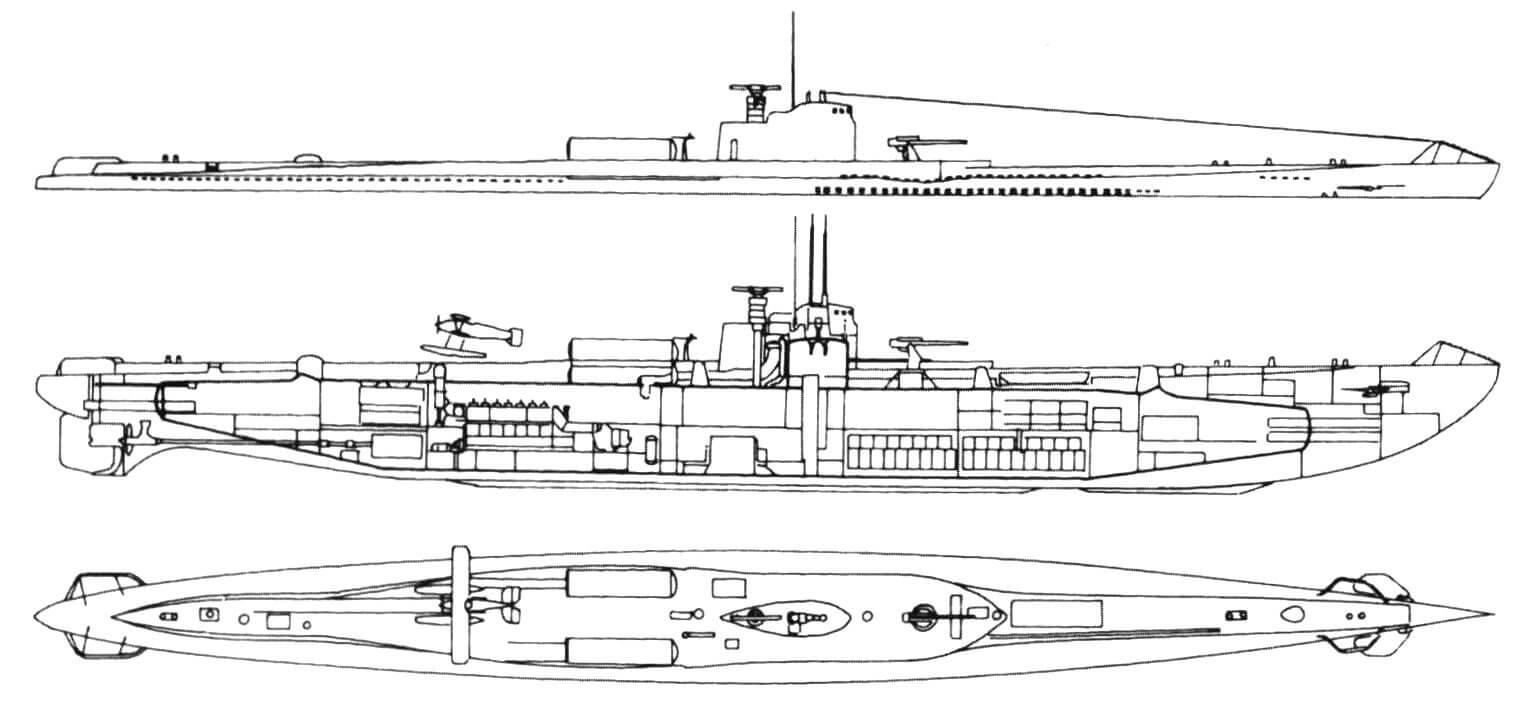 Подводная лодка I-6
