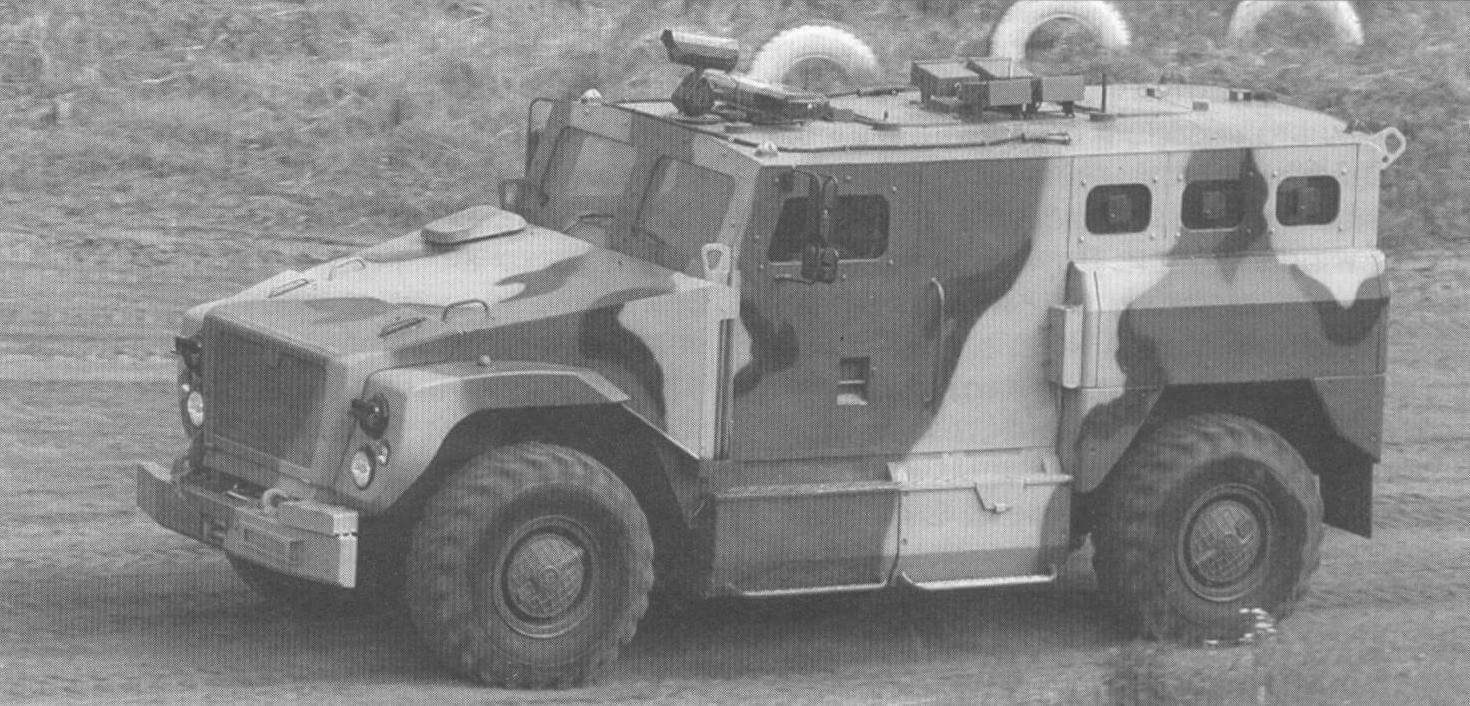 Полицейская машина СПМ-3 «Медведь»