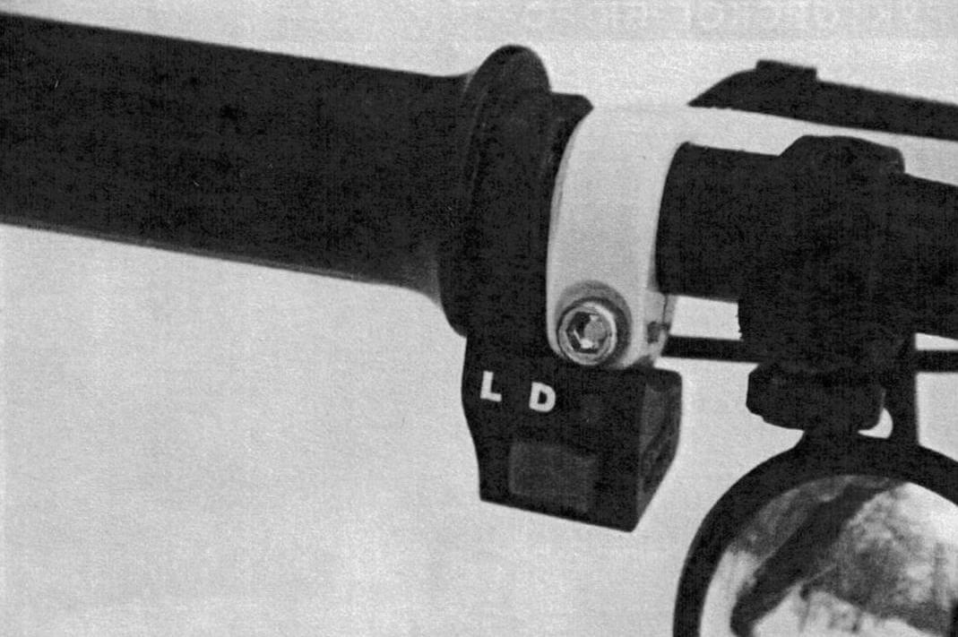 Трехпозиционный переключатель позволяет выбрать нужный в данный момент режим работы мотора