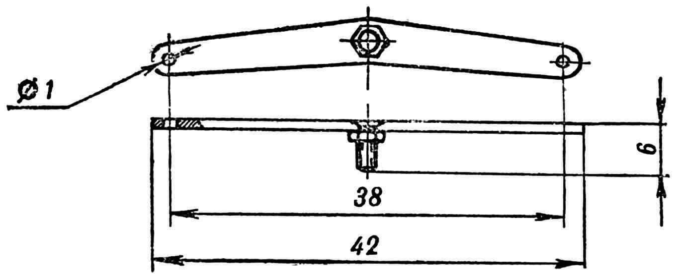 Рис. 9. Поперечная тяга рулевого привода.