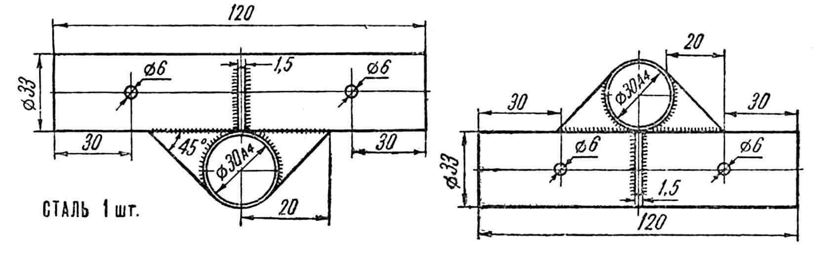 Рис. 4. (Узел Б.)