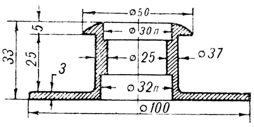 РИС. 6. МУФТА (дет. 12).