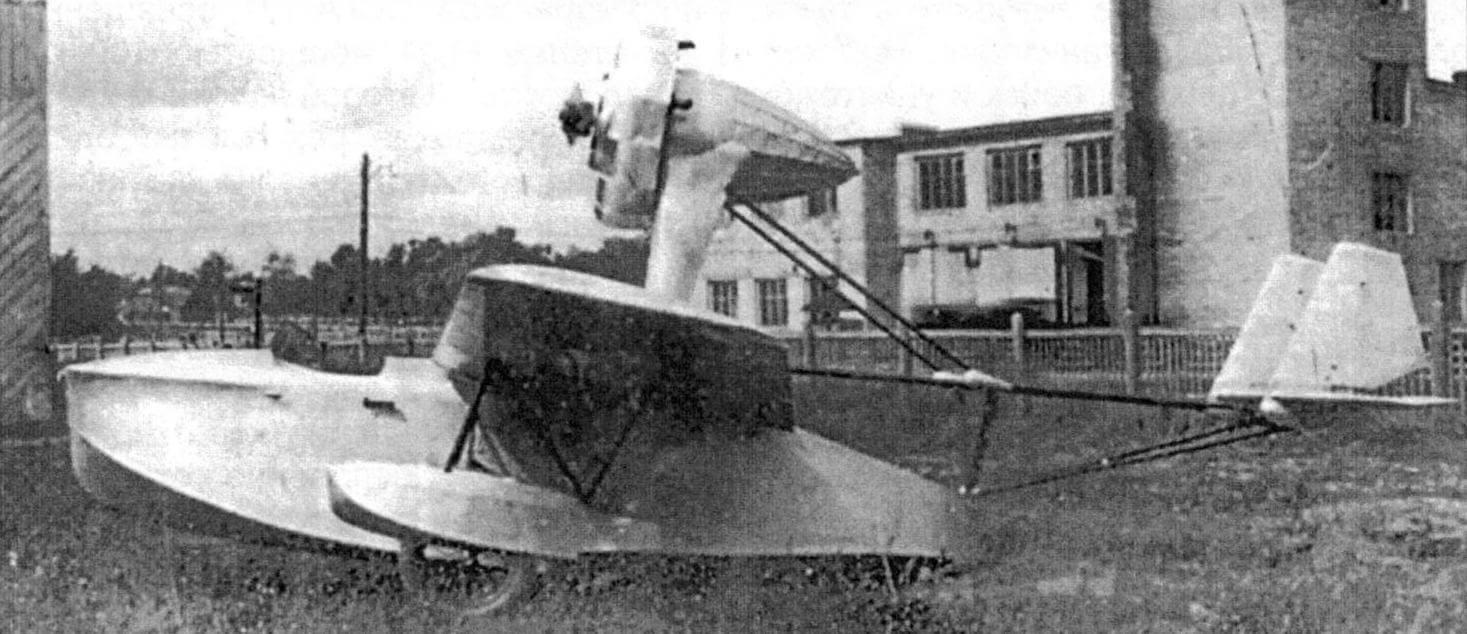 Летающая лодка ОСГА-101 конструкции И.В. Четверикова - «предтеча» СПЛ