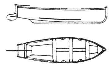 16-футовый ялик