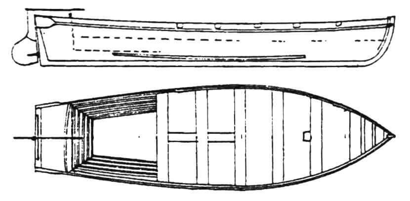 28-футовый катер