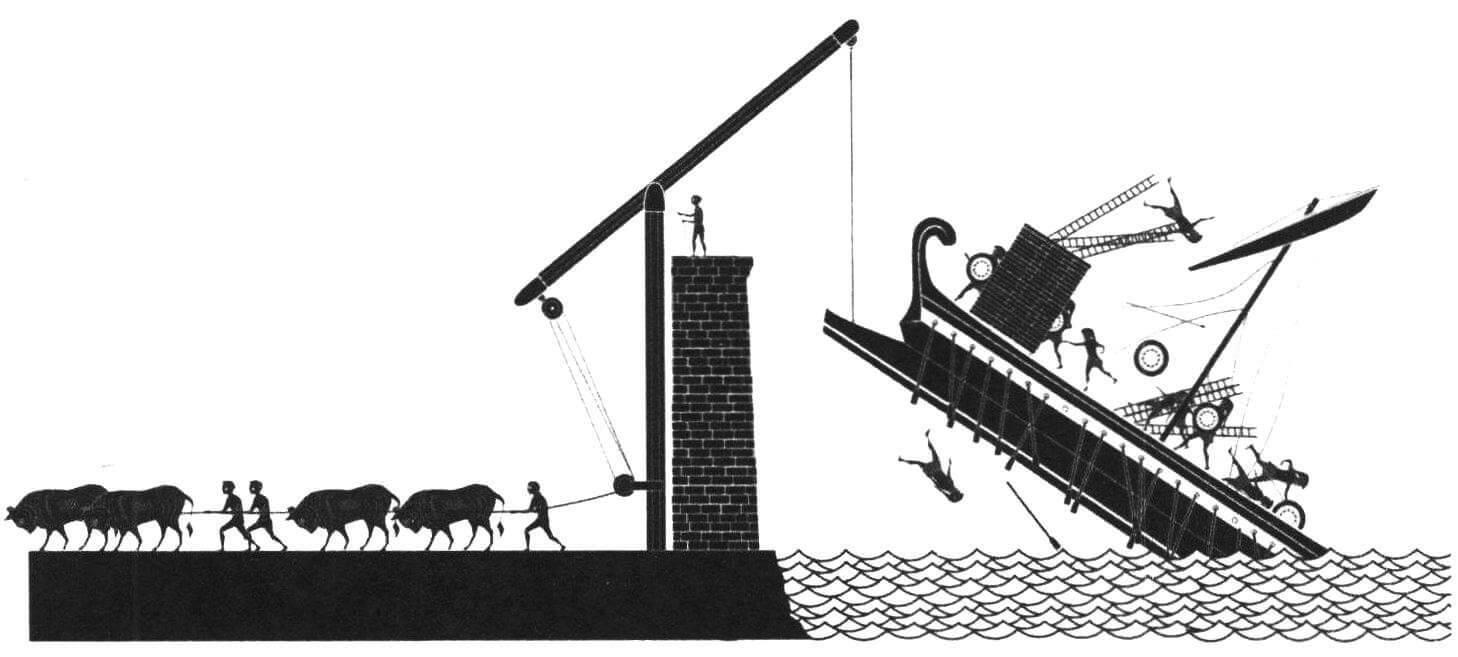 «Коготь» Архимеда был, по сути, первым манипулятором