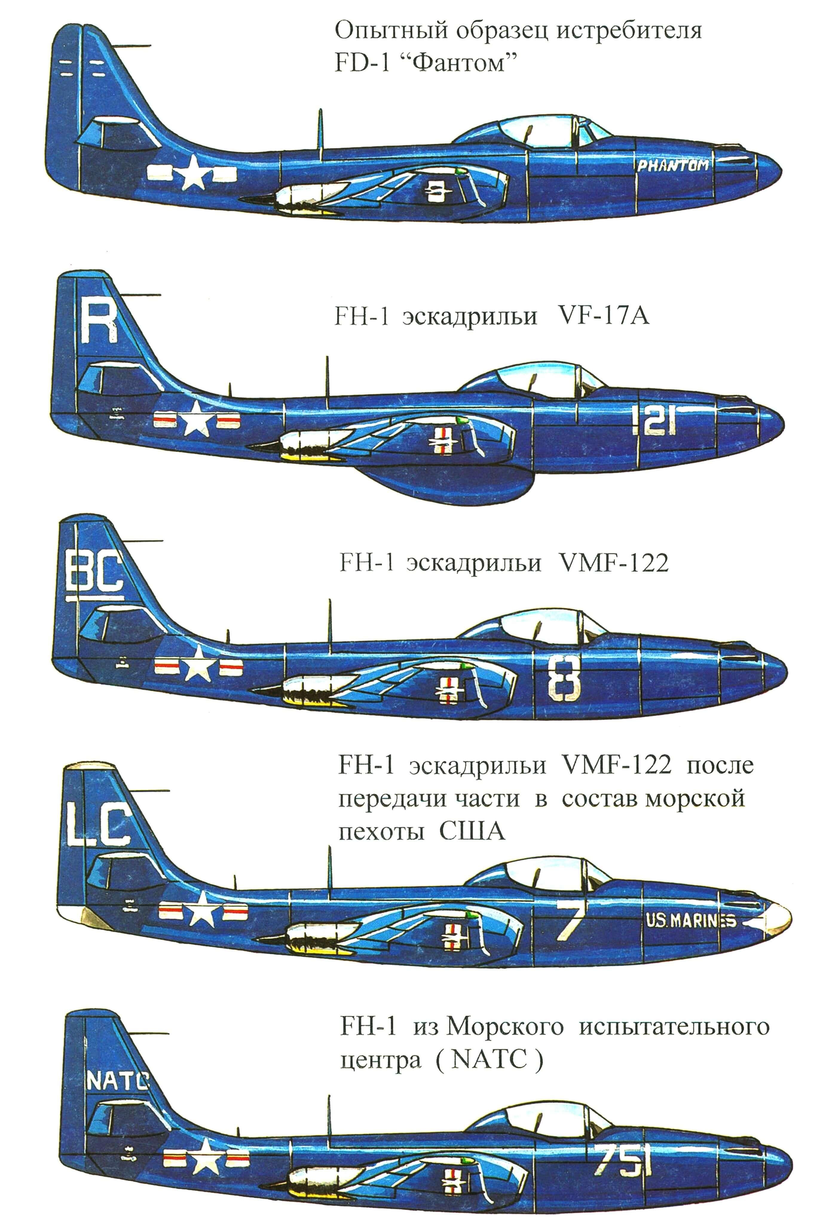 РЕАКТИВНЫЙ «ПРИЗРАК» (Истребитель FH-1 «Фантом»)