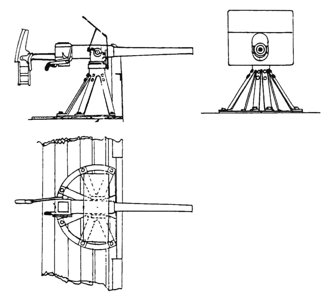 57-мм скорострельная пушка Гочкиса