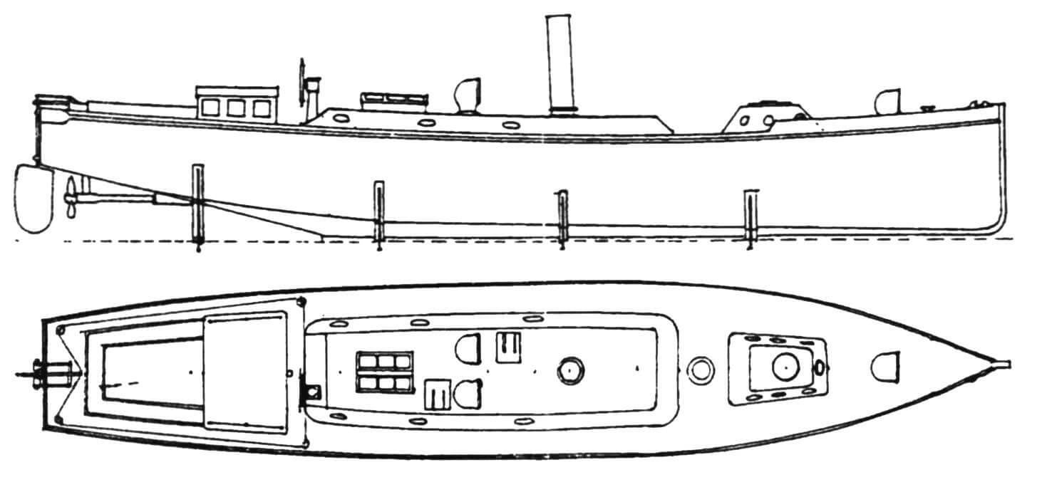 52-футовый сторожевой катер