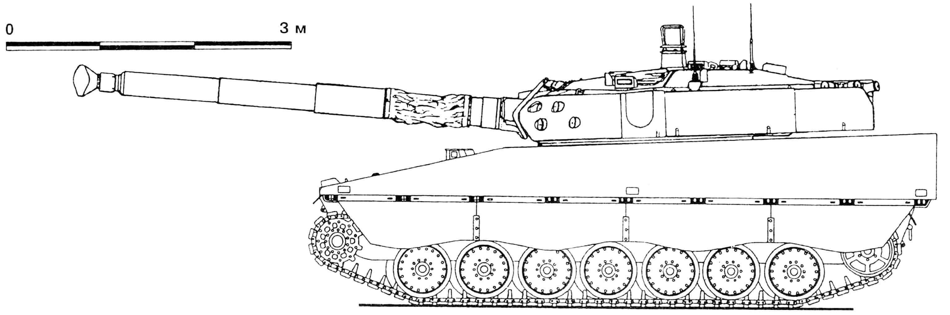 Противотанковая артиллерийская установка CV-90105 с башней GIAT TML 105.