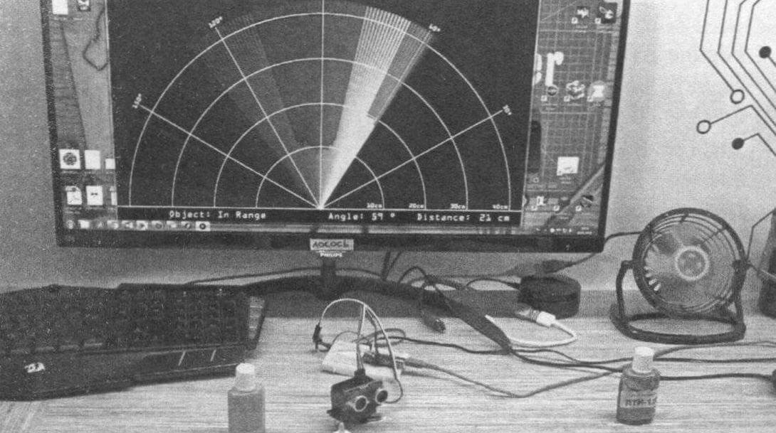 Пример работы радара