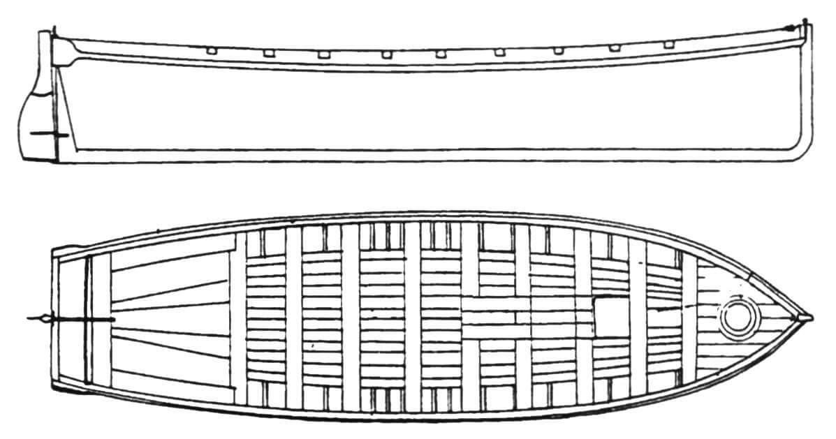 42-футовый баркас