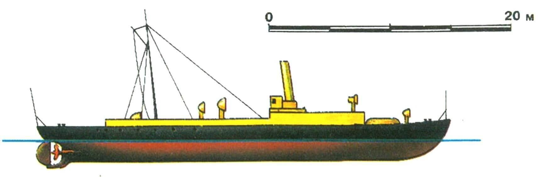 25. Миноносец «Ягер», Германия, 1883 г.