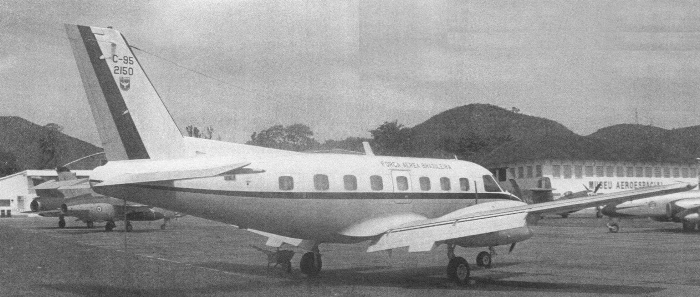 С-95, фирменное обозначение ЕМВ-110 «Бандейранте» - первый пассажирский самолет, серийно строившийся в Бразилии