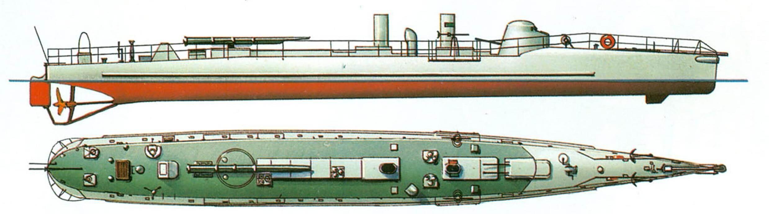 63. Миноносец № 221, Франция, 1897 г.