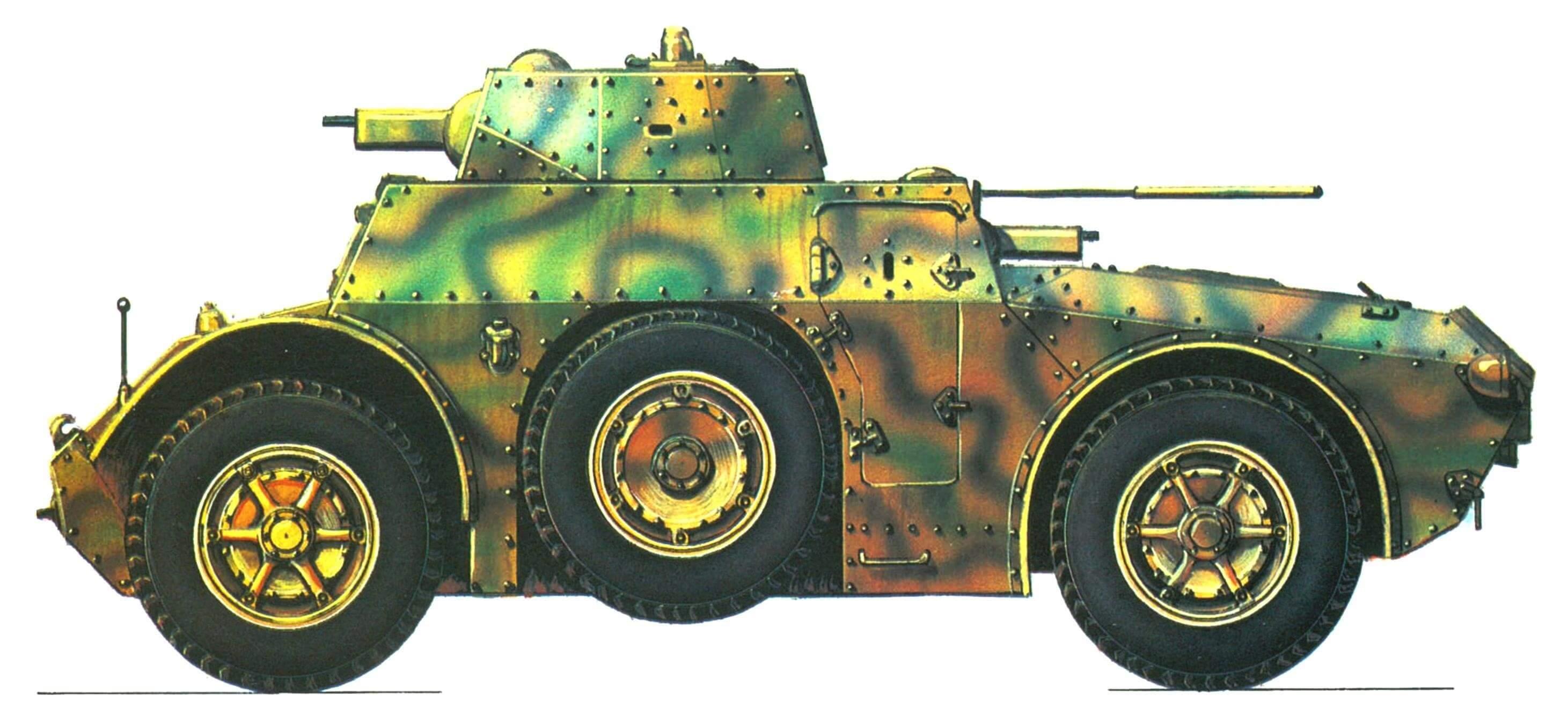 Бронеавтомобиль АВ 40 выпуска 1940 г.