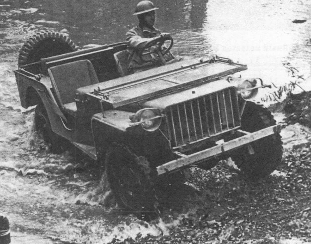 BRC-40 мог преодолевать не только водные преграды,...