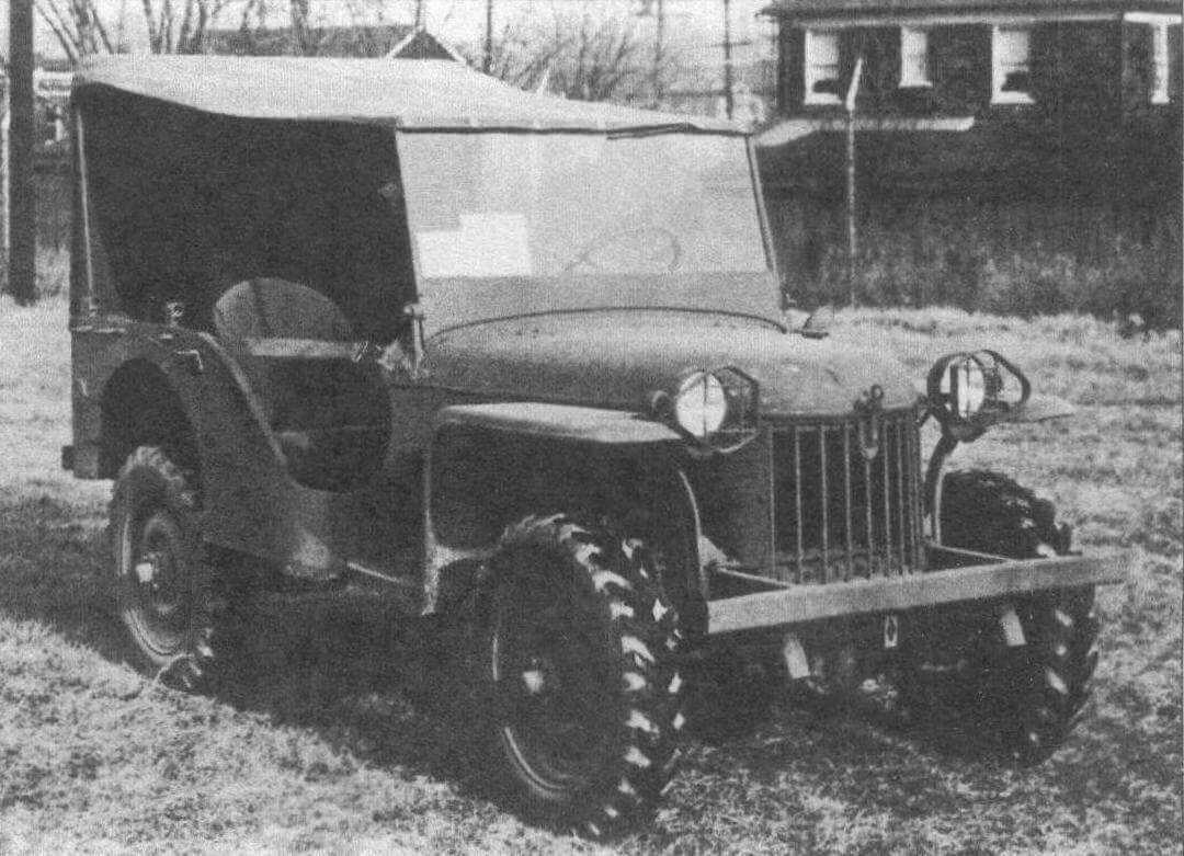 Четвертый прототип Bantam BRC-40