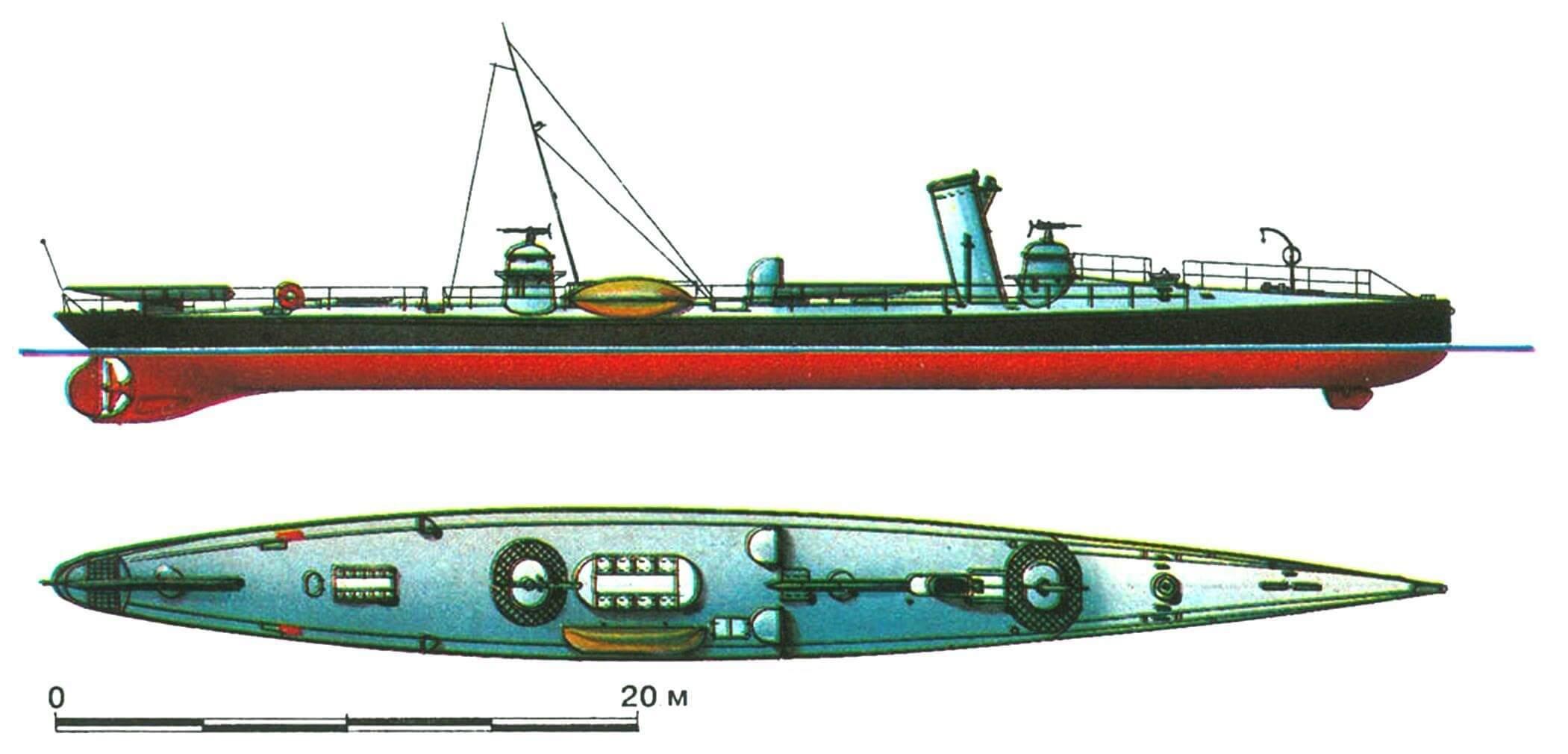 51. Миноносец S-67, Германия, 1893 г.