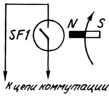 Принципиальная электрическая схема устройства.