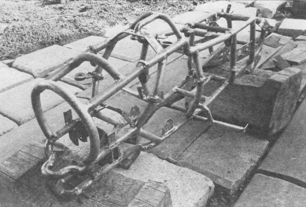 Рама «Зомби» сделана с применением трубогиба