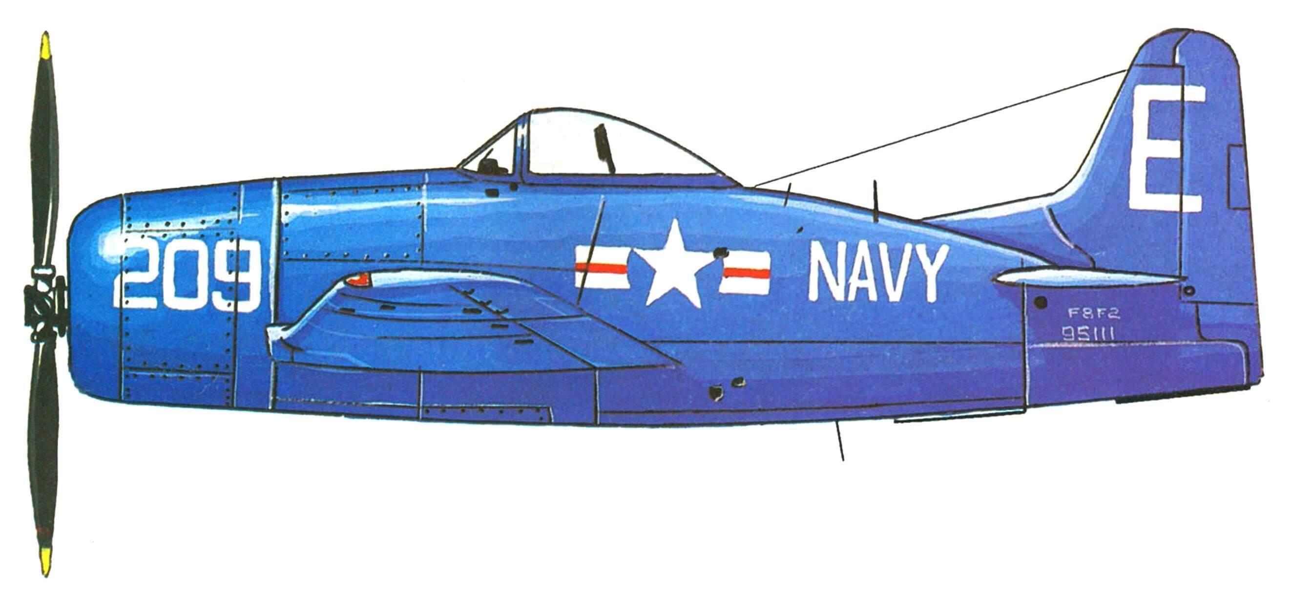 ПОСЛЕДНИЙ ИЗ ПАЛУБНЫХ ПОРШНЕВЫХ (Истребитель F8F «Биркэт»)