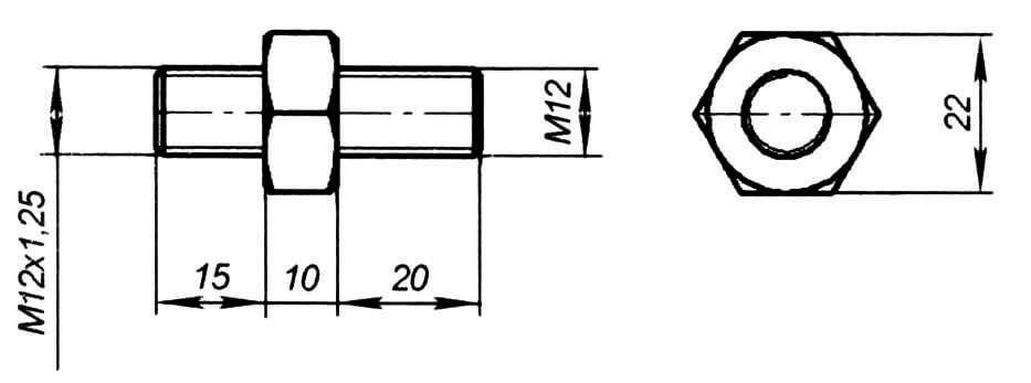 Переходник патрона (1 шт.)
