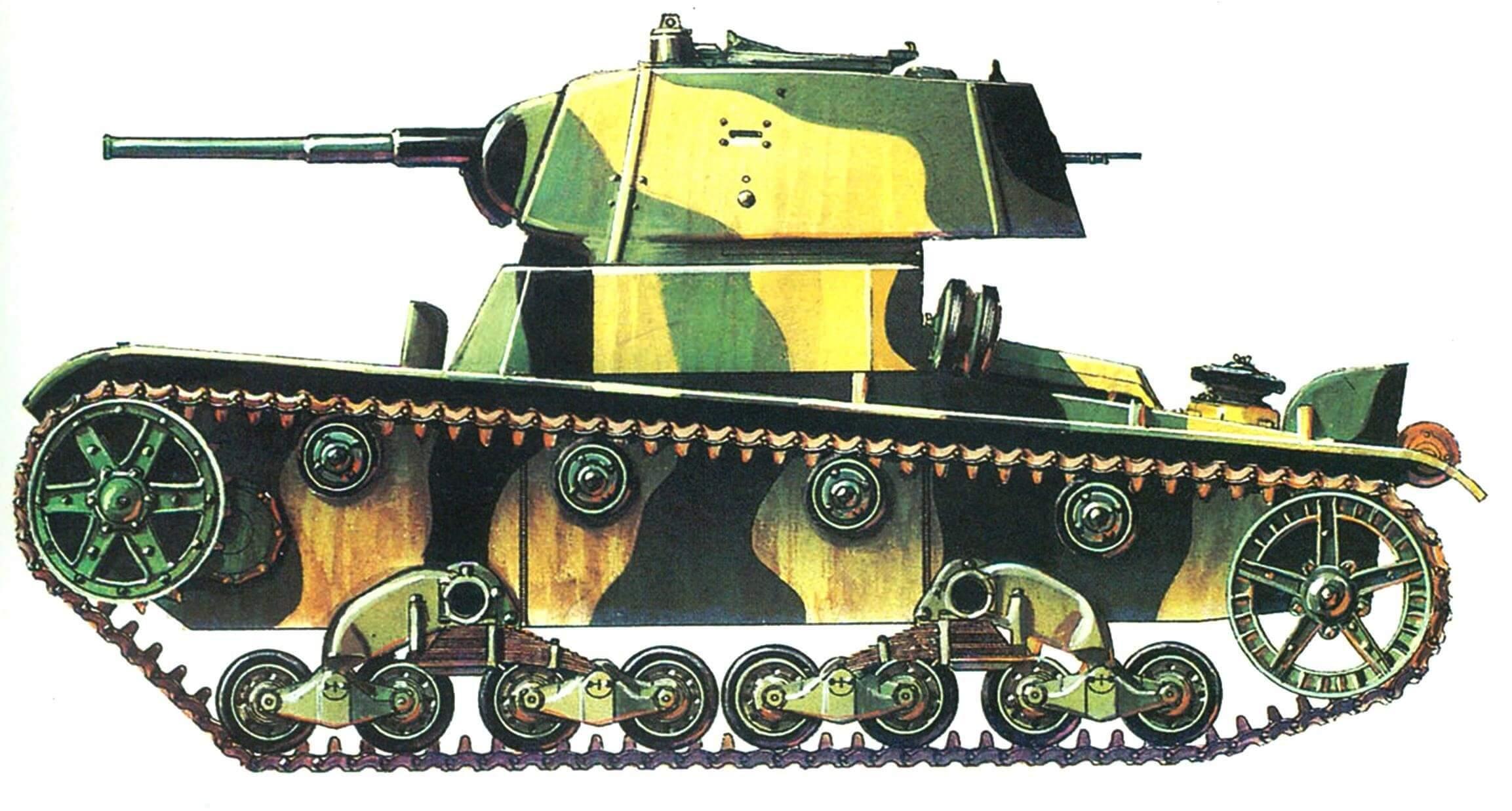 СПУТНИК ПЕХОТЫ (Легкий танк Т-26)