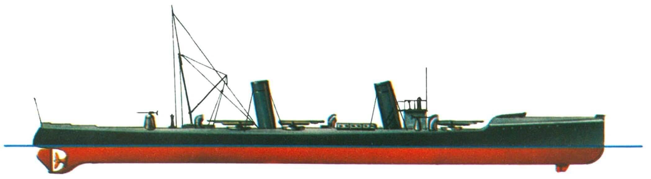 126. Эскадренный миноносец S-90, Германия, 1898 г.