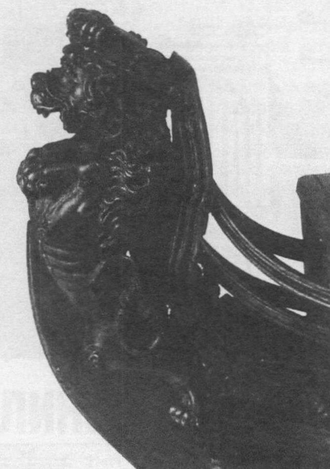 Носовая фигура с модели корабля «Сантисима Тринидад»