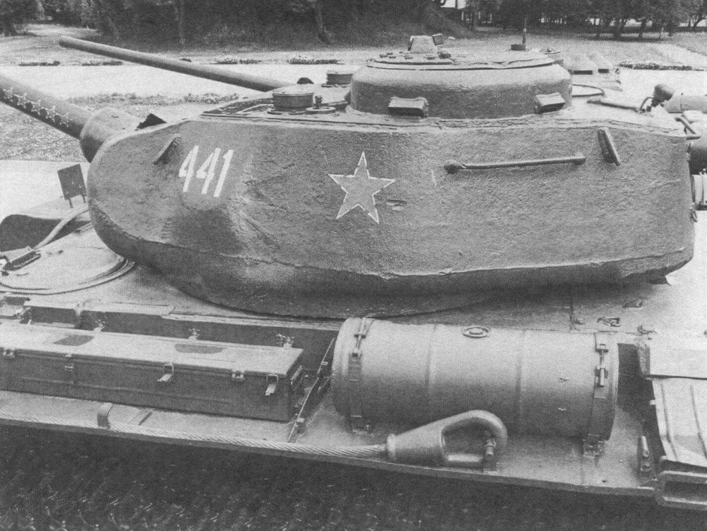 Башня танка Т-44