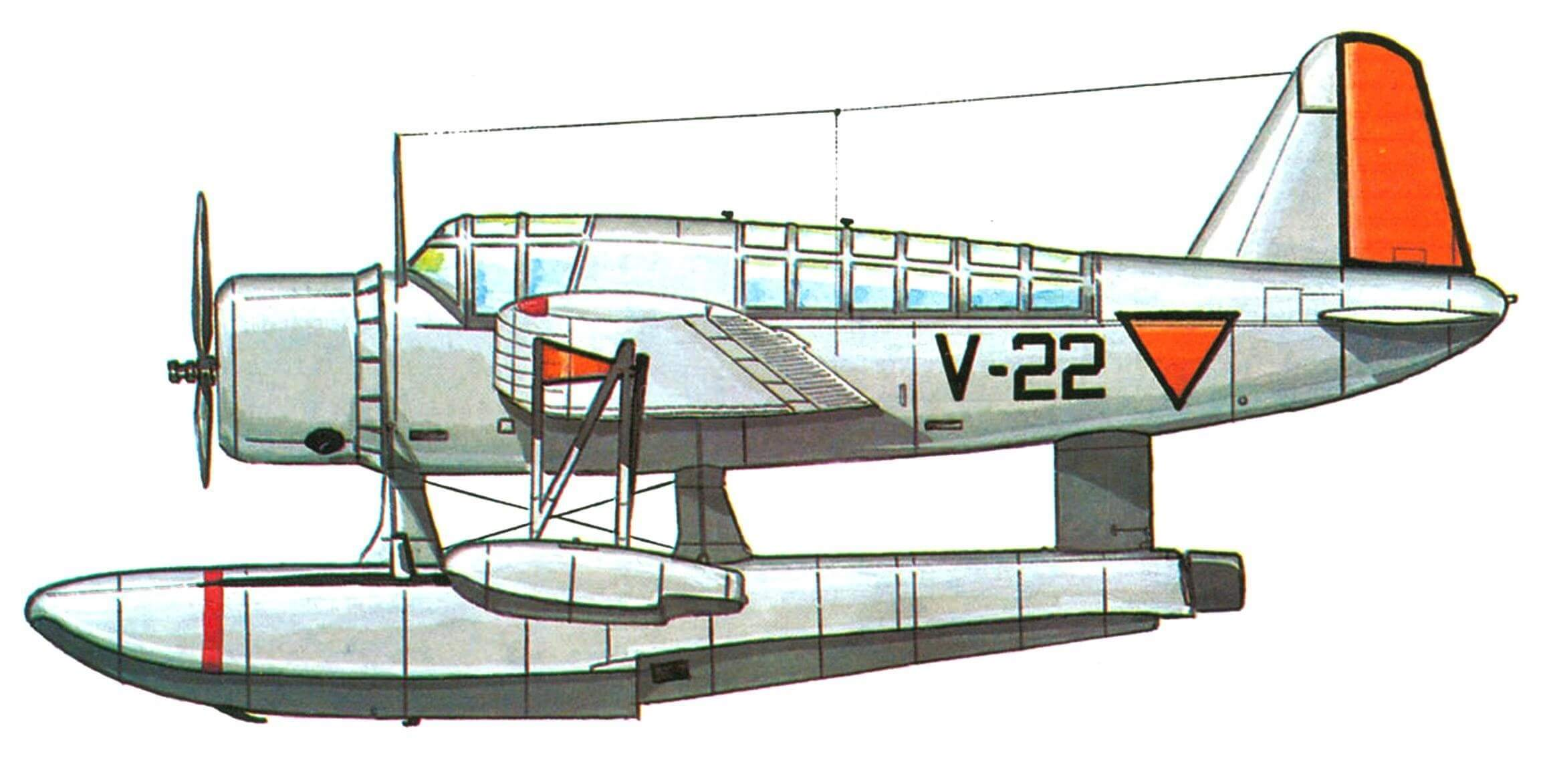 OS2U-3 голландских ВМС, 1943 год.