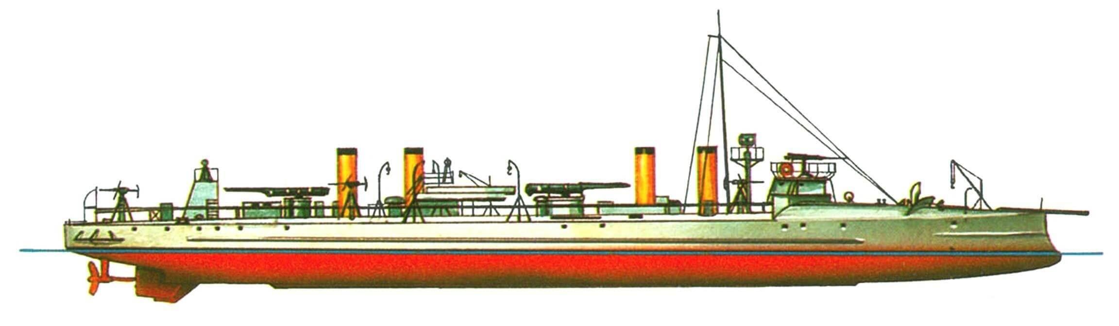 130. «Истребитель» «Форель», Россия, 1901 г.