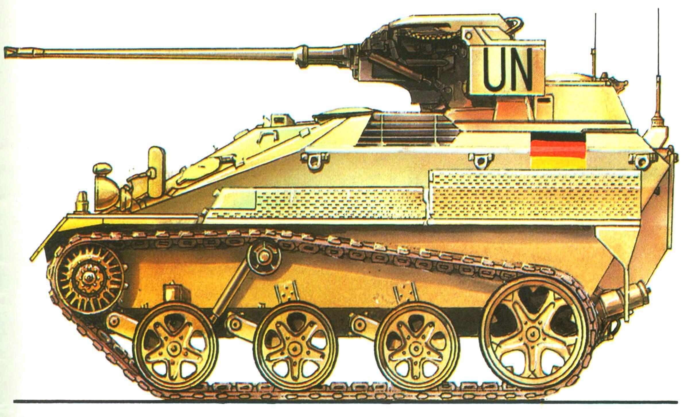 «Визель» Мк20 А1. Вооруженные силы ООН в Сомали, 1993 год.