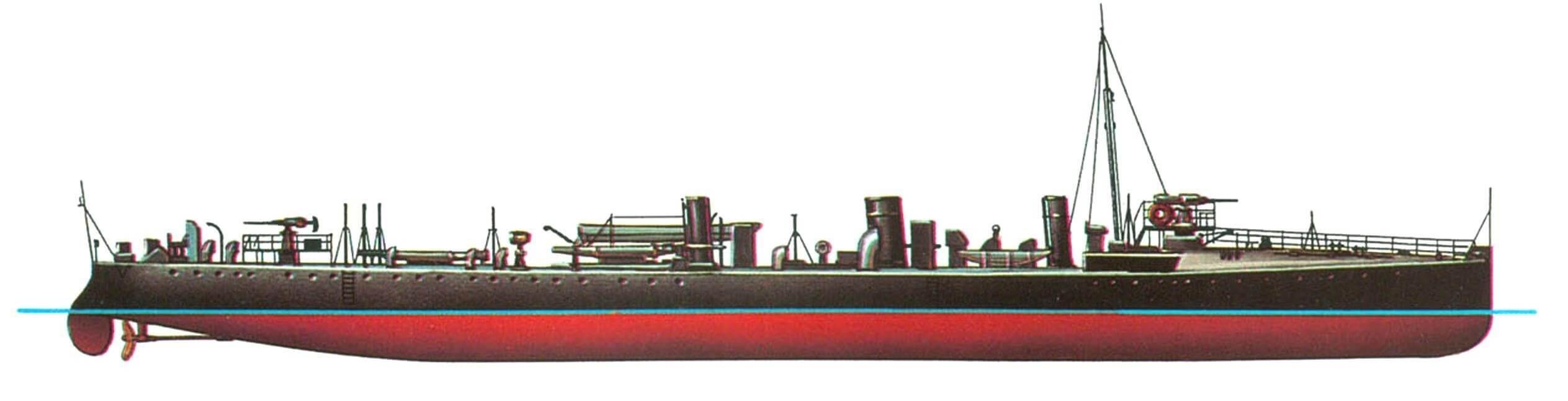 115. Эскадренный миноносец «Стэрджен», Англия, 1896 г.
