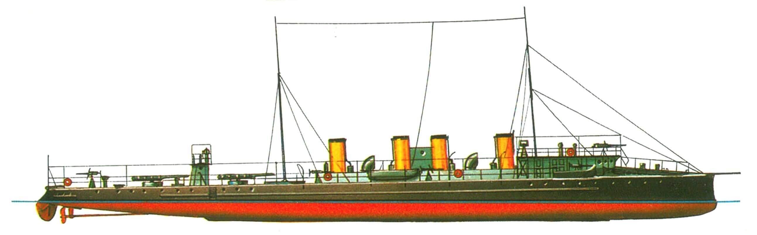 132. Эскадренный миноносец «Грозный», Россия, 1904 г.