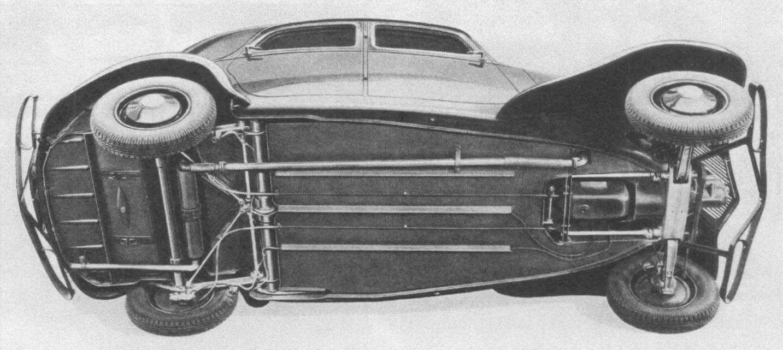 Переднеприводная компоновка обеспечила ровный пол без туннеля для карданного вала