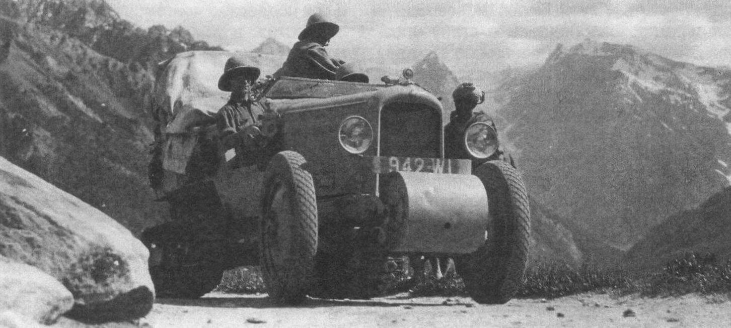 ШЕЛКОВЫЙ ПУТЬ CITROËN. К 100-летию компании Citroën
